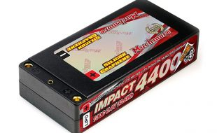 Muchmore LCG IMPACT Silicon Graphene Shorty LiPo Battery