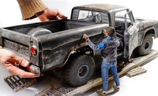 This Custom 1/6 Scale Dodge D100 Will Blow Your Mind [VIDEO]