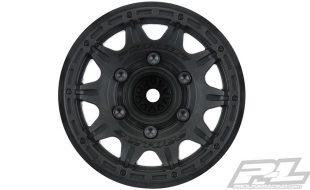 Pro-Line Raid 2.8″ Black Removable Hex Wheels [VIDEO]