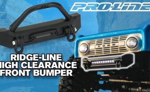 Pro-Line Ridge-Line High-Clearance Crawler Front Bumper [VIDEO]