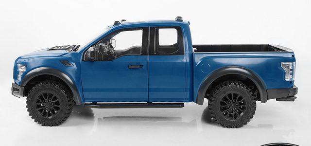 RC4WD Desert Runner With Blue Hero Hard Body Set