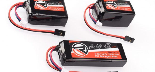 RUDDOG 7.6V LiHV Graphene Plus Receiver Battery Packs