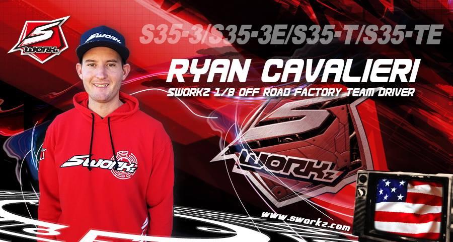 Ryan Cavalieri Signs With Yokomo And SWORKz