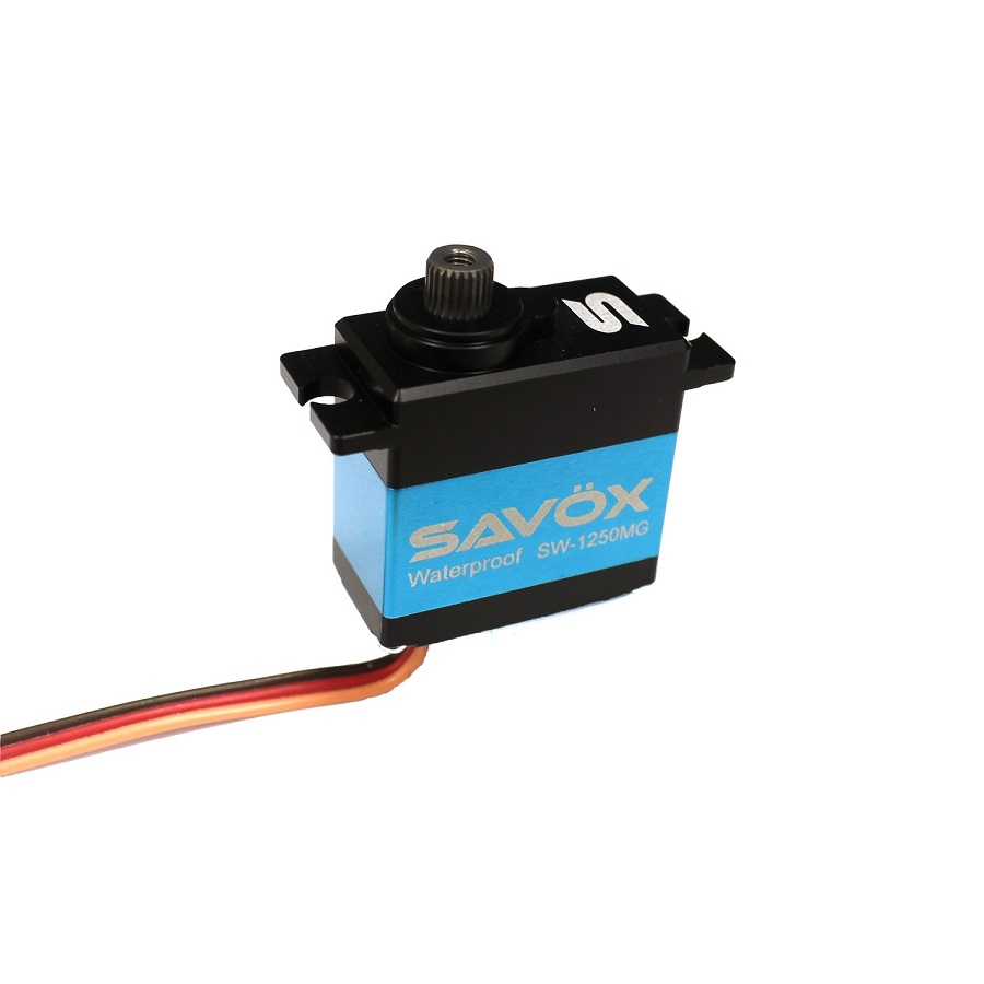 Savox SW-1250MG Waterproof Premium Mini Digital Servo