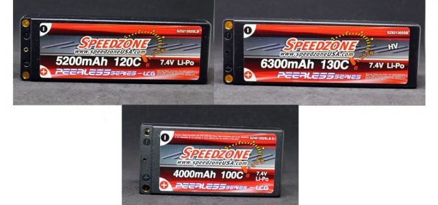 Speedzone Graphene LCG & HV LiPo Packs