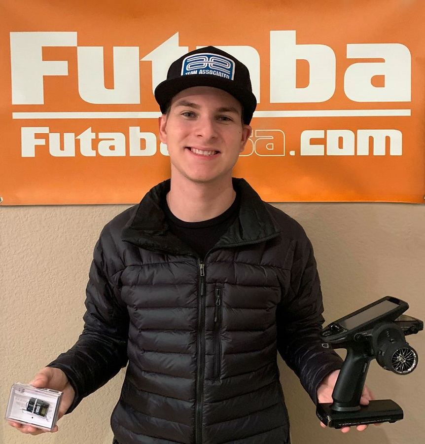 Spencer Rivkin Signs With ProTek, HOBBYWING, Futaba & Savox