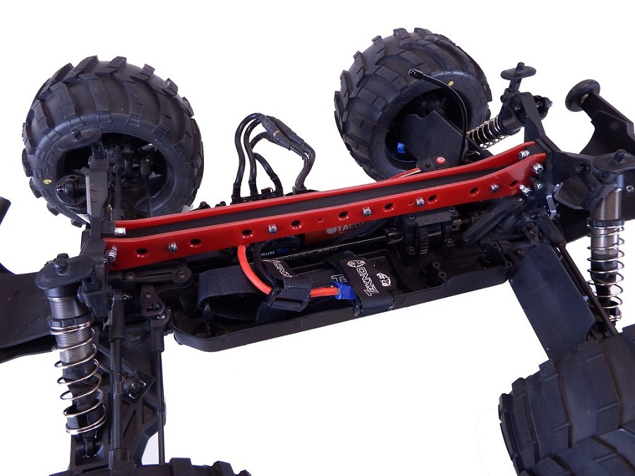 T-Bone Racing T2T Upper Chassis Brace For The Tekno MT410