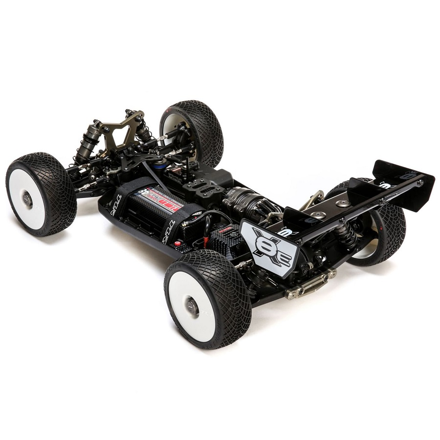 TLR 8IGHT-XE 1/8 4WD Electric Buggy Race Kit - RC Car Action