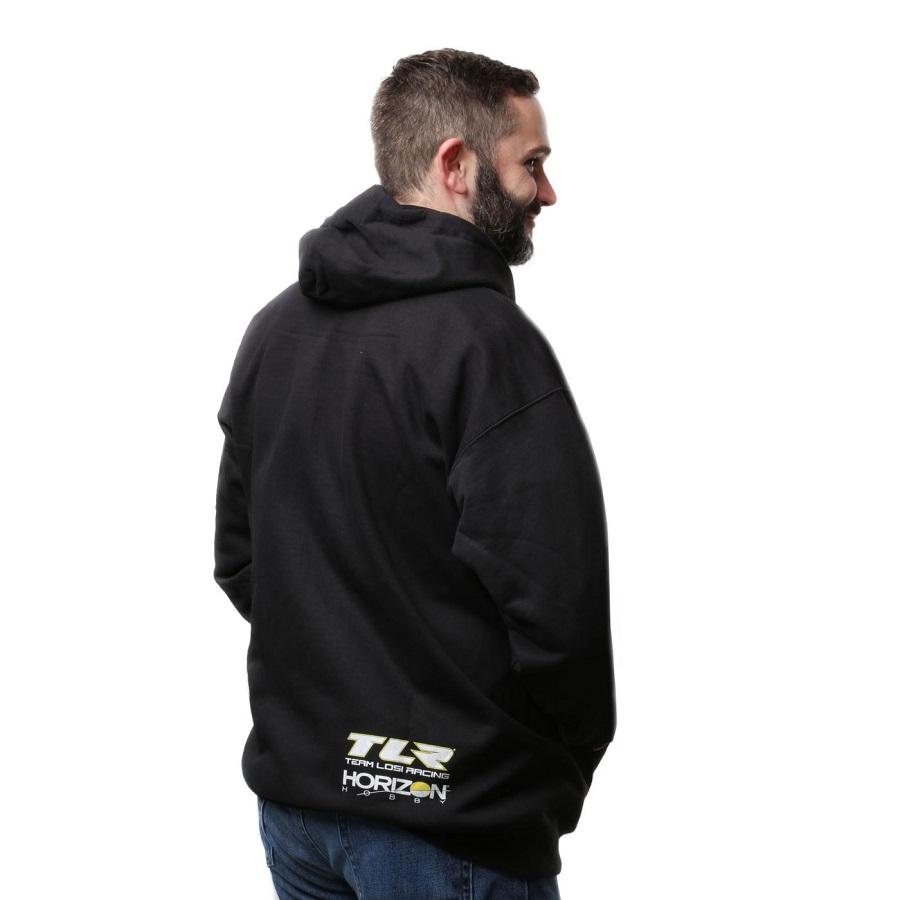 TLR Black Zip Hoodie