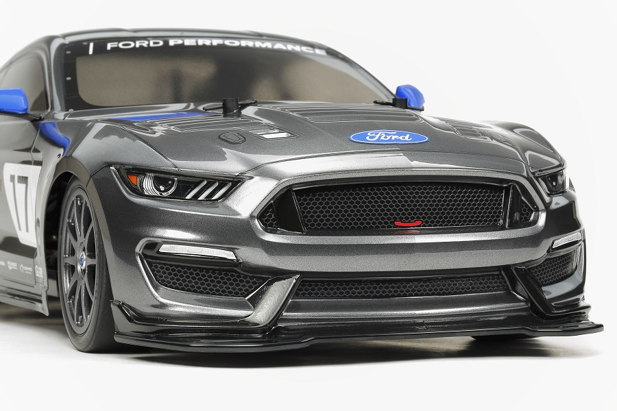 tamiya ford mustang gt4 tt 02 rc car action. Black Bedroom Furniture Sets. Home Design Ideas