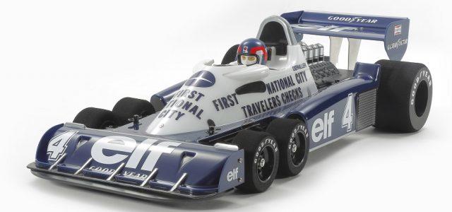 Tamiya Limited Edition Tyrrell P34 Six Wheeler 1977 Monaco GP