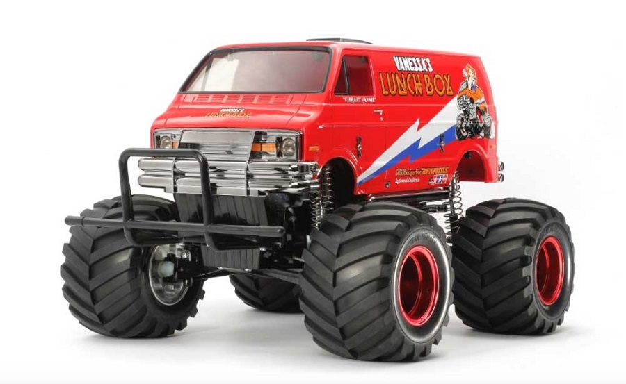 Tamiya Red Edition RC Lunch Box