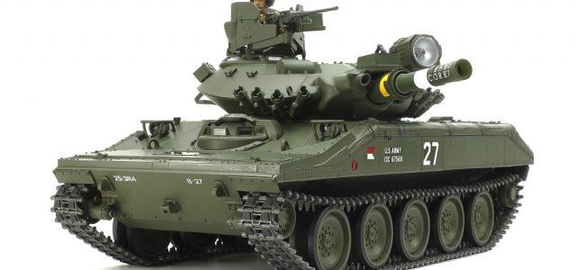 Tamiya U.S. Airborne M551 Sheridan Tank