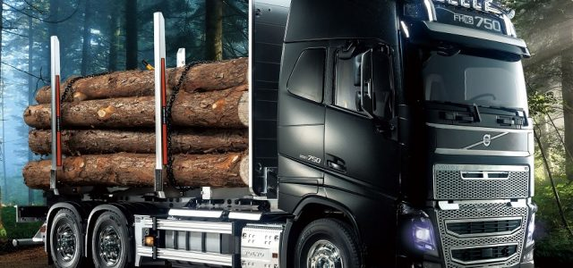 Tamiya Volvo FH16 Globetrotter 750 6×4 Timber Truck