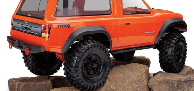 Traxxas TRX-4 Sport Camper Clear Body - RC Car Action