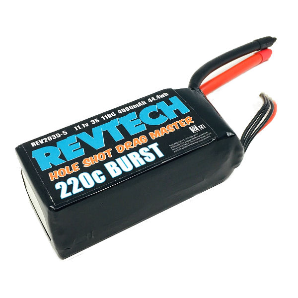 Trinity Revtech Drag Racing LiPo Packs