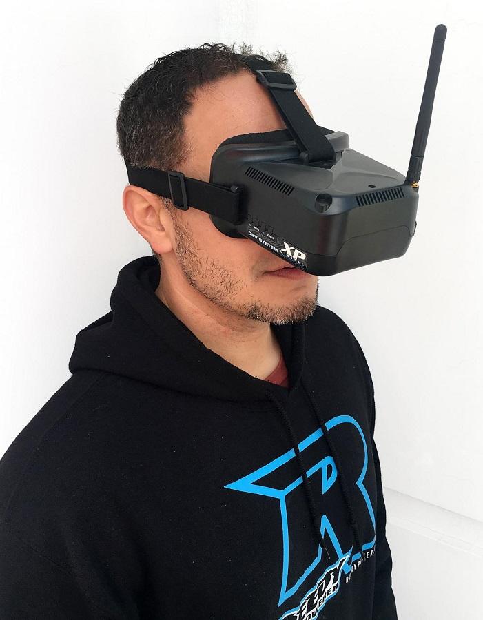 XP Digital DSV System: FPV Goggles & Camera Set