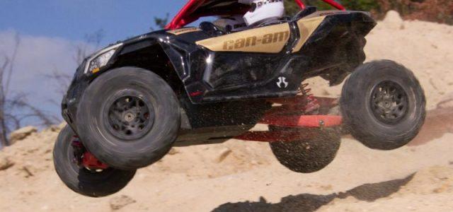 Axial Yeti Jr. Can-Am Maverick X3 1/18 Electric 4WD RTR [VIDEO]