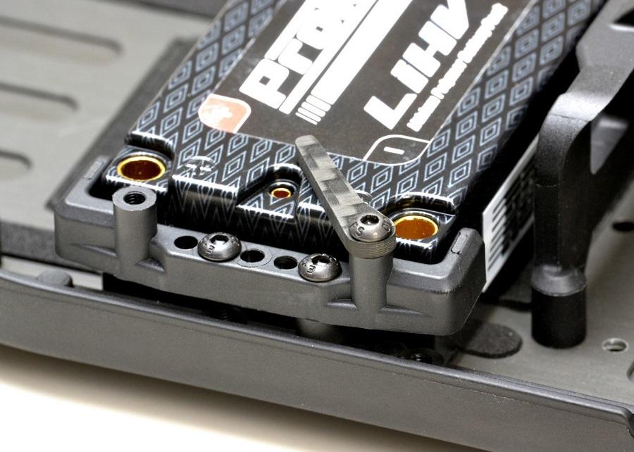 Exotek YZ2 & YZ2T Carbon Fiber LiPo Tabs