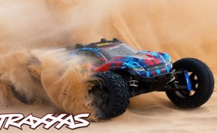 Fully Upgraded Rustler 4X4 VXL Rips Through The Desert [VIDEO]