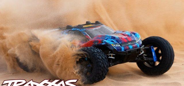 Fully Upgraded Rustler 4X4 VXL Rips Through The Desert [VIDEO]