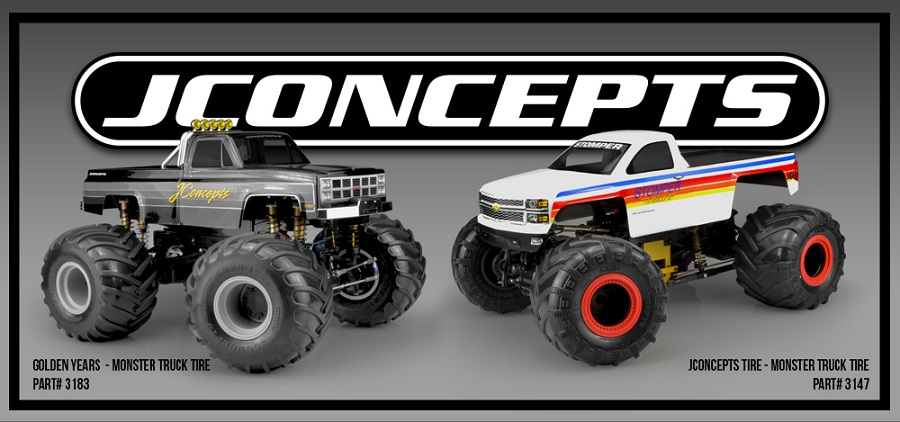 JConcepts Releases 2 New Monster Truck Tires