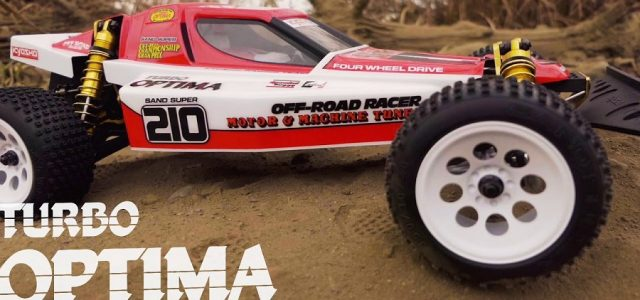 Kyosho Turbo Optima Gold Kit 4WD Off-Road Buggy [VIDEO]