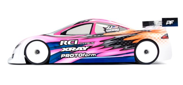PROTOform X-Lite Weight 190mm Touring Car Clear Bodies
