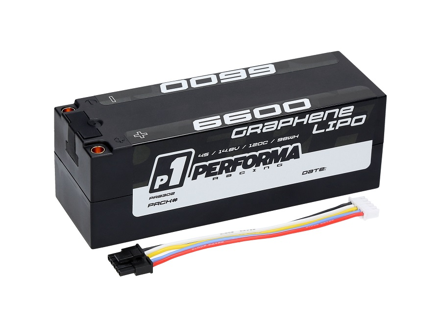 Performa Racing Graphene LiPo Competition Batteries