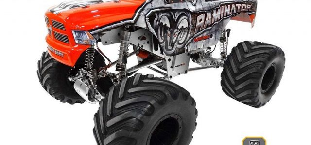 Primal RC 1/5 Raminator Monster Truck RTR [VIDEO]