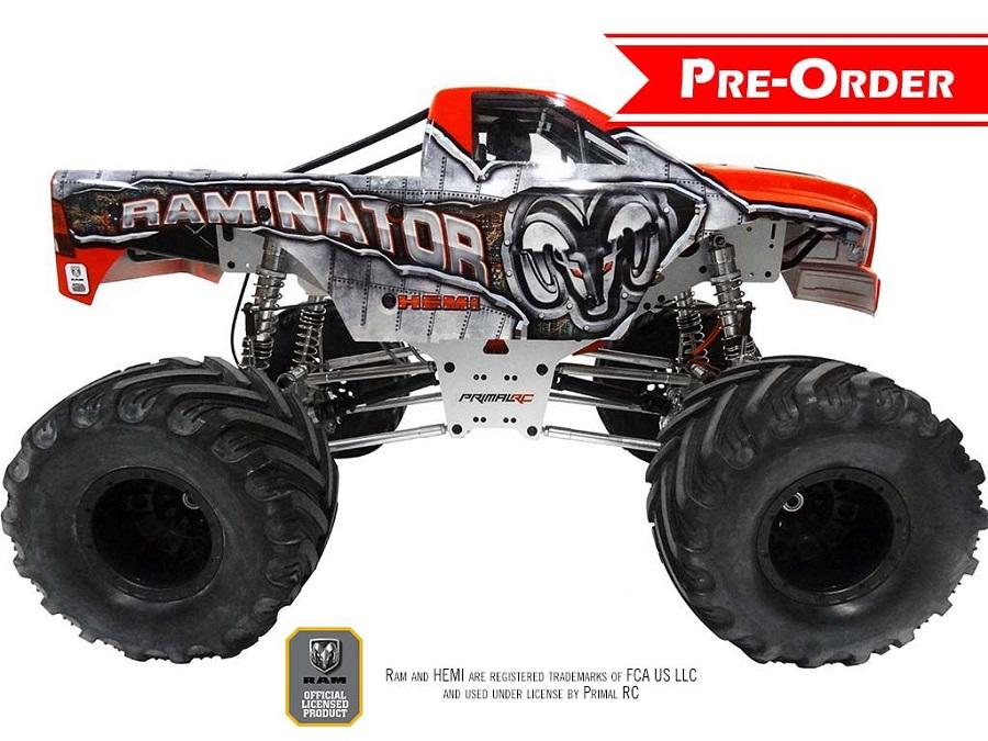 Primal RC 1/5 Raminator Monster Truck RTR