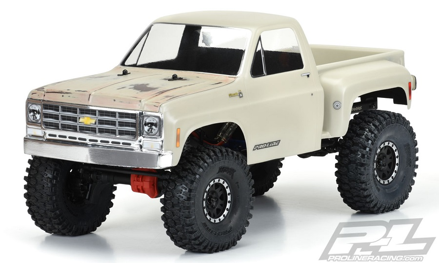 Pro-Line 1978 Chevy K-10 Clear Body (Cab & Bed)