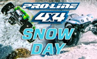 Pro-Line 4×4 Snow Day [VIDEO]