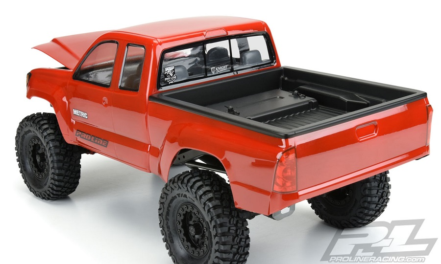 Pro-Line Builder's Series: Metric Clear Body
