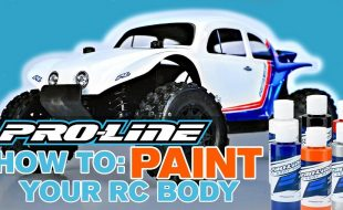 Pro-Line HOW TO: Paint Your RC Body [VIDEO]