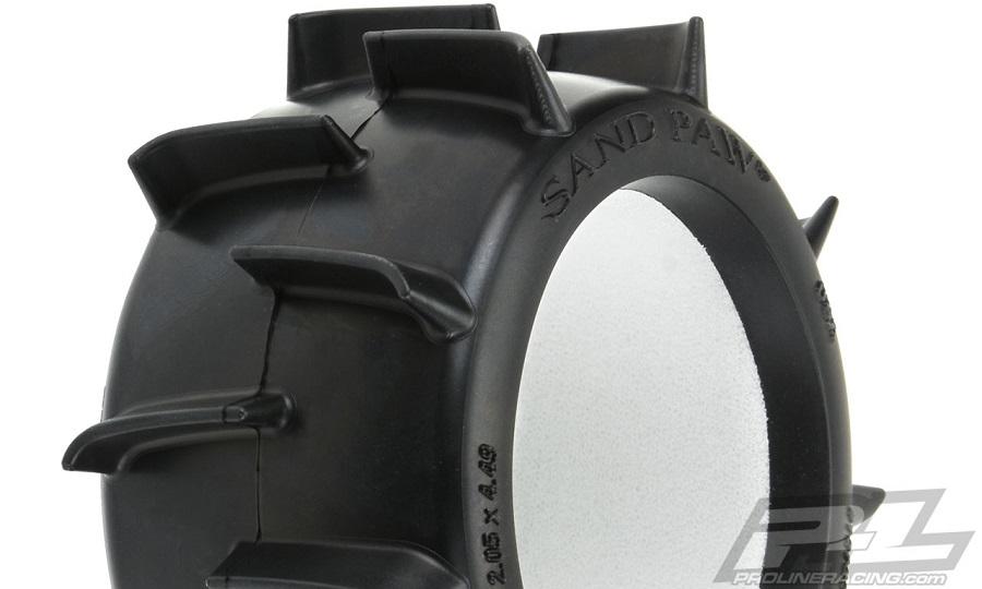 "Pro-Line Sand Paw LP 2.8"" Sand Truck Tires"