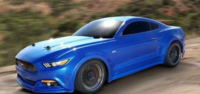 Traxxas 4-Tec 2.0 Red & Blue Mustangs