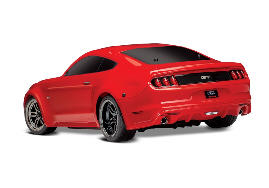 Traxxas 4-Tec 2.0 Red & Blue Mustangs