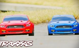 Traxxas Ford Mustang GT Muscle Car Mashup [VIDEO]