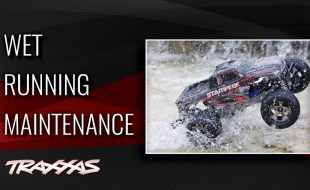 Traxxas Support: Wet Running Maintenance [VIDEO]