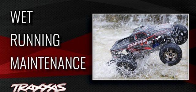Traxxas Support: Wet Running Maintenance [VIDEO]