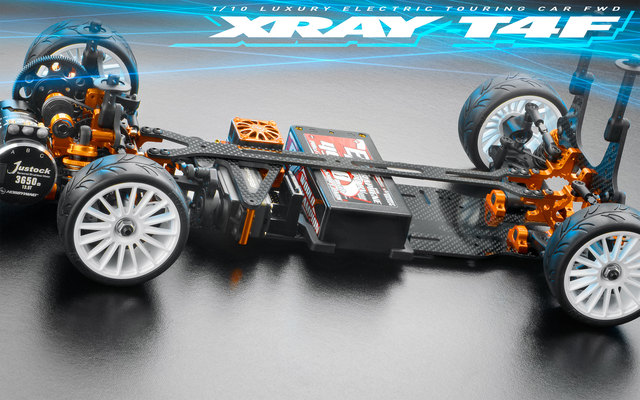 XRAY T4F 1/10 FWD Touring Car