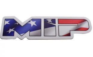 MIP American Flag Die Cut Vinyl Sticker