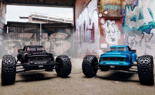 ARRMA 2019 1/8 NOTORIOUS 6S BLX 4WD Brushless Classic Stunt Truck RTR [VIDEO]