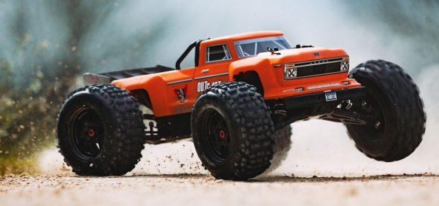 ARRMA 2019 1/8 OUTCAST 6S BLX 4WD Brushless Stunt Truck RTR [VIDEO]
