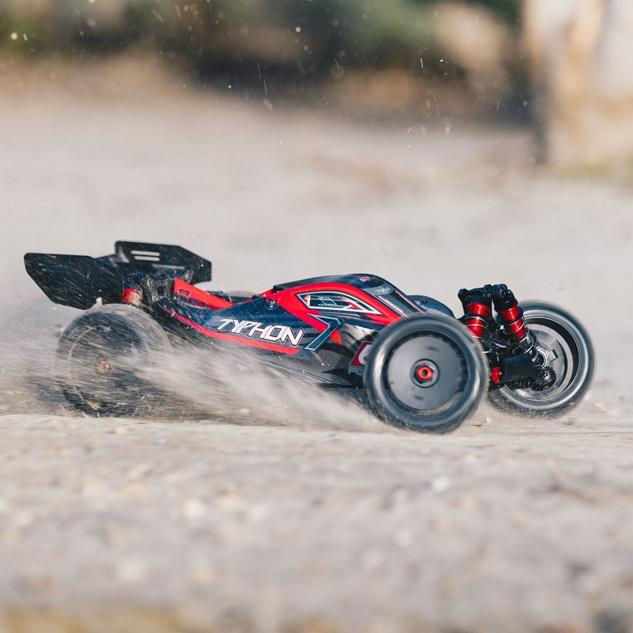 ARRMA 2019 1/8 TYPHON 6S BLX 4WD Brushless Buggy RTR