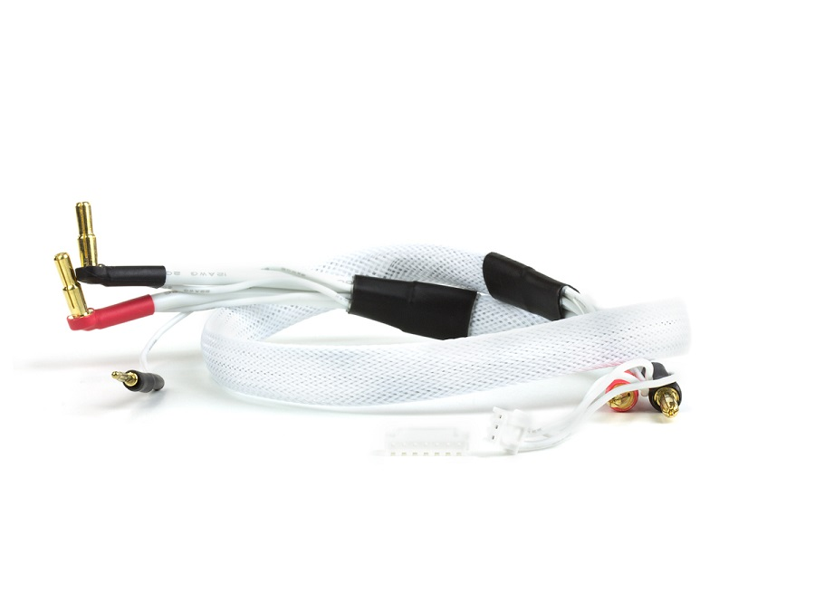 Avid 1S-6S Battery Voltage Checker & 2S White Charge Leads