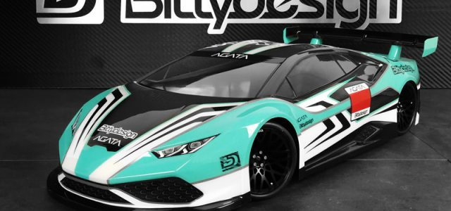Bittydesign AGATA 1/10 GT 190mm Clear Body [VIDEO]