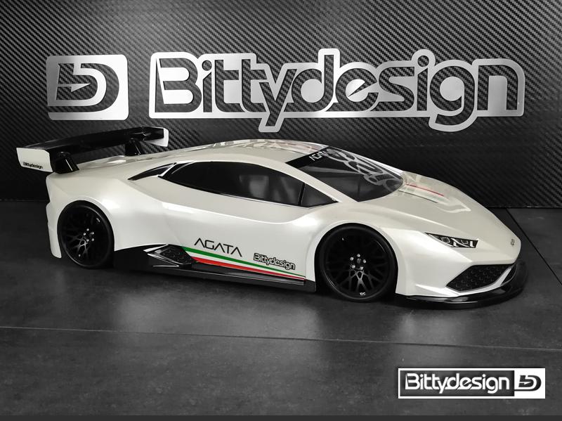 Bittydesign AGATA 1/10 GT 190mm Clear Body