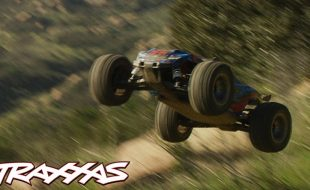 Downhill Shredding With The Traxxas Rustler 4X4 VXL [VIDEO]